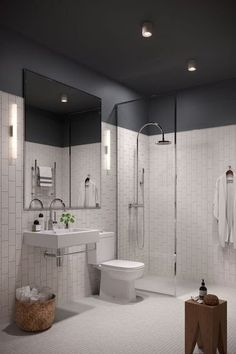 Luxury Bathroom Master Baths Paint Colors is agreed important for your home. Whether you pick the Luxury Master Bathroom Ideas or Luxury Bathroom Master Baths Benjamin Moore, you will create the best Small Bathroom Decorating Ideas for your own life. Bad Inspiration, Bathroom Inspiration, White Bathroom, Small Bathroom, Bathroom Ideas, Bathroom Remodeling, Master Bathrooms, Remodel Bathroom, Serene Bathroom