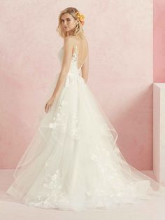 9f99e829552d Flirty, feminine and fit for a princess, Sweet is a ball gown made from ·  Layered Wedding DressesSweet ...