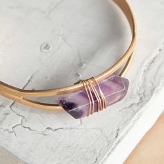 Wire Wrapped Semi Precious Bracelet | Grae Apparel