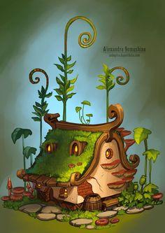 小房子由Sedeptra@SupperPEPPER采集到概念设计——小物件(45图)_花瓣游戏