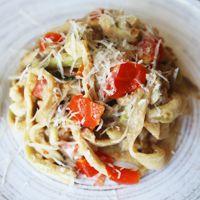 Alton Brown's Eggplant Pasta Recipe