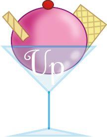 copa de helado  para la tecla de subir de un blog si quieres ver más ve a mi blog: humordesese.blogspot.com.es