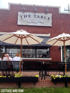 The Table - Asheboro, NC...I photographed the owners renovating this building while I was in school, so cool to see it completed and as a running business now.