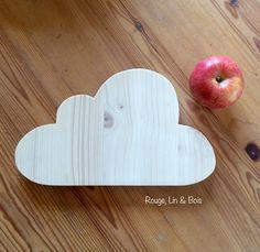 Dessous de plat nuage en pin accessoire de cuisine : Cuisine et service de table par rouge-lin-et-bois