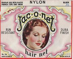 Jac-o-net Dura Finish Hair Nets by Calsidyrose, via Flickr