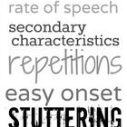 This is a black-and-white version of speech therapy subway art for stuttering. It can be printed out onto card stock or uploaded to a photo process...