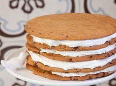 Bolo gigante de cookies!!!