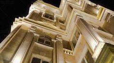 نما در شب ساختمان مسکونی روسپینا International Real Estate, Stairs, Home Decor, Stairway, Decoration Home, Room Decor, Staircases, Home Interior Design, Ladders
