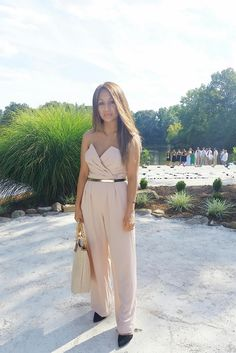 NuriaRose: Wedding at the Lake with Rent the Runway! #chic#jumpsuit