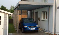 Glasdach Carport wohnideen interior design einrichtungsideen bilder modern