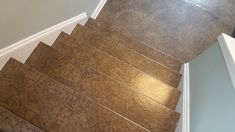 Paper Bag Flooring on Stairs?