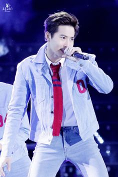 Exo Band, Kim Junmyeon, Suho Exo, Exo Members, Picture Collection, Stage, Mens Fashion, Concert, Cotton