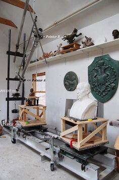 Керопская скульптура / Скульптура, расширяющая и уменьшающая