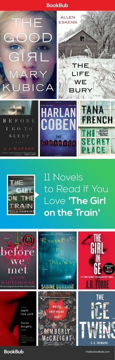 The Girl on the Train is the hottest bestseller of 2015. Already read it? Here are books worth reading next.
