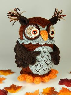 Ravelry: Wesley the Wise Owl pattern by Moji-Moji Design