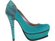Via Marte #green #heels