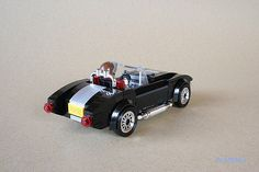 """On his Flickr photostream, _lichtblau_ posted three images and 4-page Building Instructions for his Lego AC Shelby Cobra car.  He wrote that """"The AC Shelby..."""