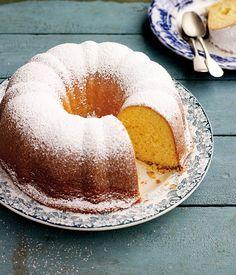 Australian Gourmet Traveller recipe for yoghurt cake with lemon (Yiaourtopita) by Kathy Tsaples. Lemon Dessert Recipes, Lemon Recipes, Easy Cake Recipes, Easter Recipes, Gourmet Recipes, Delicious Desserts, Greek Sweets, Greek Desserts, Yogurt