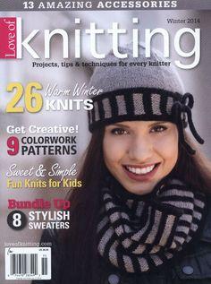 Love of Knitting  Winter 2014 - 轻描淡写 - 轻描淡写
