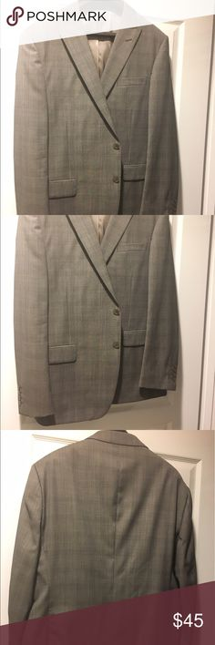 Fine Italian Suit Jacket Gray 48R - NWOT Fine Italian Suit Gray Jacket 48R. By Tiglio Luxe   Gray with a light plaid. New without tags. Tiglio Suits & Blazers Sport Coats & Blazers