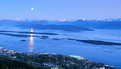 The famous Molde Panorama seen from the city of Molde, Norway - Photo: Giuliu Bolognesi