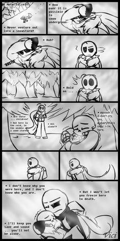 Even though I hate the theory that gaster is their adopted dad... this comic is so cute! ( ^ω^)