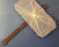 Vengadores String Art tapices juego de 4 por halftonehandicrafts