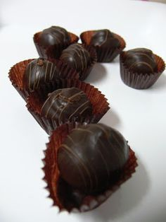 The Ultimate Chocolate Blog: Bittersweet Chocolate Truffle Recipe for a Happy V...