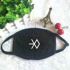 EXO SM Miracles In December Album Official Logo EXO-L Fashion Face Mask #EXO #SM #MiraclesInDecember #Album #Official #Logo #EXOL #Fashion #Facemask #KidolStuff