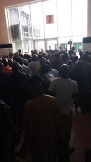 Clockwise News: Earlier Situation At The Airport