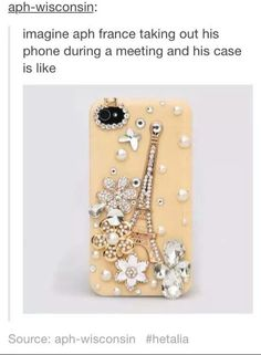 Isn't that kinda the equivalent of have a dick-pic as your phone case?