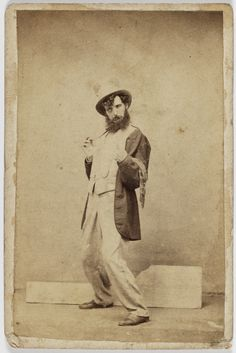 """These staged studio photographs depicting the five stages of inebriation are thought to be comissioned by a temperance group for educative purposes or to be used by an engraver for illustrations. In 1866, the Premier of New South Wales, James Martin introduced the """"Drunkard's Punishment Bill."""""""