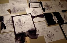 Chandelier Invitations