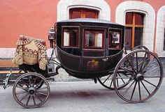 18th Century Carriage Mexican Aristocracy