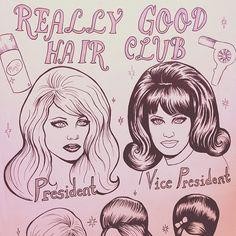 REALLY GOOD hair club
