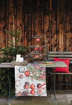 Christmas on the table - ein Läufer, Artikel 5160 von Apelt