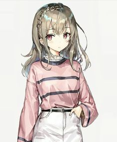 Jolie fille anime Best Picture For anime dessin manga For Your Taste You are looking for something, Fille Anime Cool, Art Anime Fille, Cool Anime Girl, Pretty Anime Girl, Beautiful Anime Girl, Anime Art Girl, Anime Girls, Cute Manga Girl, Blonde Anime Girl