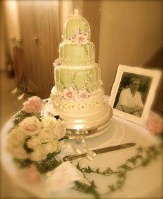 Birdcage Cake by Rachelle's Cakes