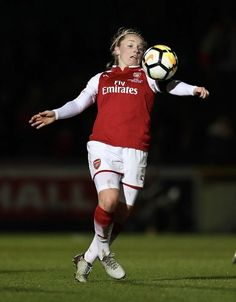 e427cb87b Kim Little of Arsenal Women during the WSL Continental Cup Final between Arsenal  Women and Manchester City Ladies at Adams Park on March 2018 in High ...