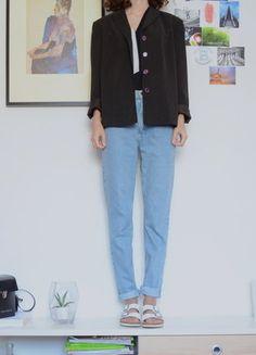 Kaufe meinen Artikel bei #Kleiderkreisel… #fashion #blazer #vintage Zara, Mom Jeans, Normcore, Blazer, Pants, Vintage, Style, Fashion, Spinning Top