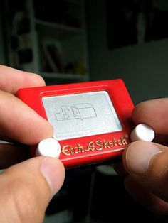 This minute Etch-A-Sketch. | 29 Adorably Tiny Versions Of Normal-Sized Things