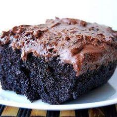 'Just saved Black Magic Cake (Best Chocolate Cake Ever!) in my Recipe Box! 'Just saved Black Magic Cake (Best Chocolate Cake Ever!) in my Recipe Box! Yummy Recipes, Sweet Recipes, Baking Recipes, Dessert Recipes, Recipes Dinner, Dessert Food, Breakfast Dessert, Food Cakes, Desert Recipes