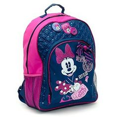 minnie mouse back packs | shop bags backpacks minnie mouse college backpack can be personalised ...