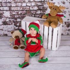 Kup teraz na allegro.pl za 80,00 zł - Strój Sesja dziecięca świąteczna Elf Skrzat święta (6578615599). Allegro.pl - Radość zakupów i bezpieczeństwo dzięki Programowi Ochrony Kupujących!