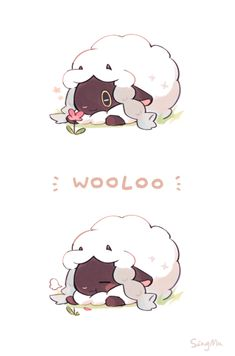 wooloo oh my god. by Kitkaloid on DeviantArt Yes Ill take an entire herd of Wooloo for my Pokemon Sword and Shield party p Untitled Thank you nintendo for my life! Most adorable dance ever Pokemon Memes, Pokemon Fan Art, Oc Pokemon, Gijinka Pokemon, Pokemon Comics, Digimon, Illustration Kawaii, Vintage Wallpaper, 3840x2160 Wallpaper