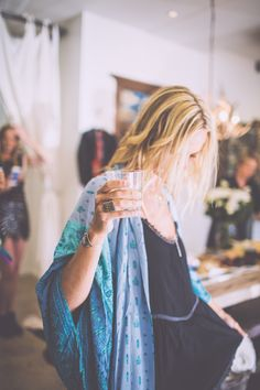 Beautiful boho outfit at the Spell Summer Soiree.
