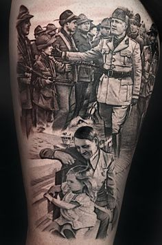Matteo Pasqualin – Tattoos *****  While I wouldn't get a tattoo of that subject, you gotta recognize this guy's skills.  He also did that famous steampunk-themed sleeve with a man in a top hat.