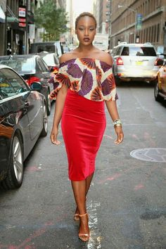 Blouse ~African fashion, Ankara, kitenge, African women dresses, African prints, African men's fashion, Nigerian style, Ghanaian fashion ~DKK
