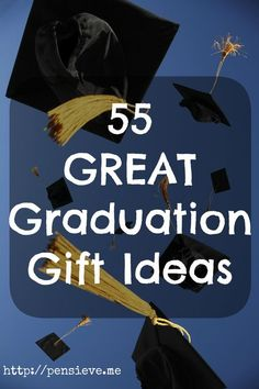 Graduation-ideas ~ I got tired of SO MANY IMPRACTICAL SLIDESHOWS so I compiled my own list.  And if I haven't listed YOUR great idea, I hope you'll share!