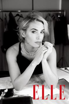 ...♥♥ Kate Winslet for ELLE Magazine China April 2012